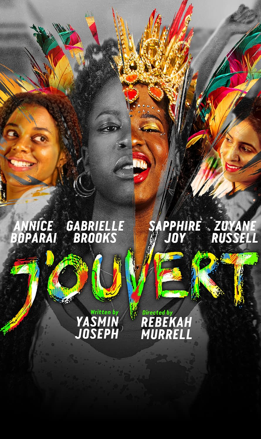 J'OUVERT play banner