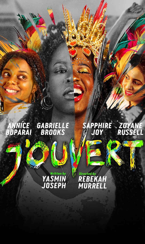 J'OUVERT play banner