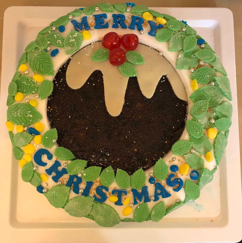 Christmas Cake winning entry