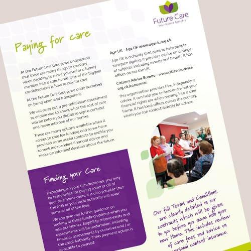 Financial Advice Leaflet