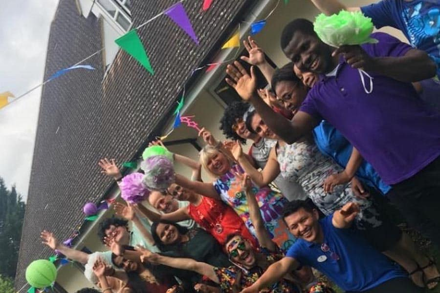 Party no. 16 at Bourne House Nursing Home