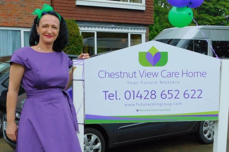 Party no. 3 at Chestnut View Care Home