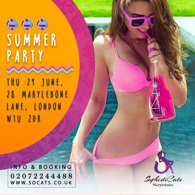 summer party strip club London
